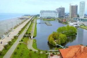 Черноморское побережье Батуми фото